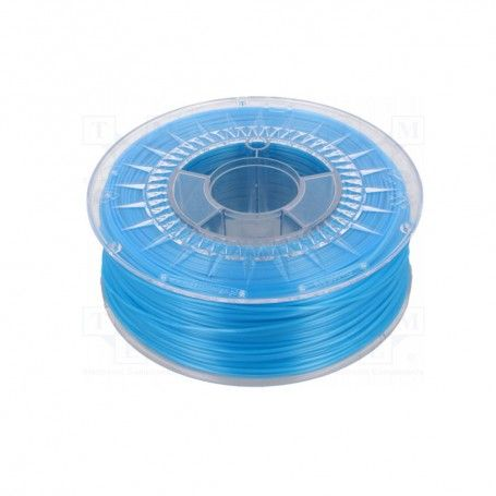 PLA 1.75 BLUE SEMI TRANSPARENT