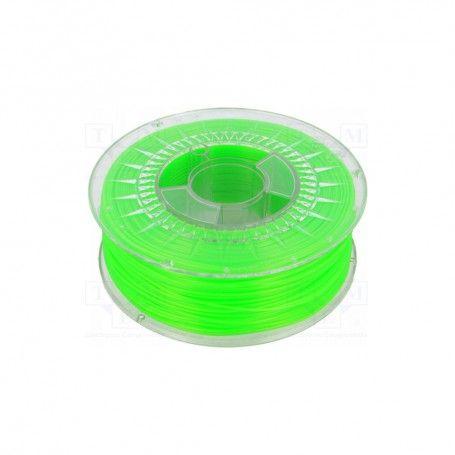 PLA 1.75 BRIGHT GREEN SEMI TRANSPARENT