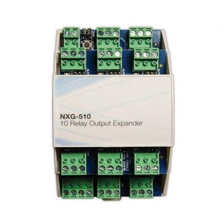 NXG-510 - MODULE ΕΠΕΚΤΑΣΗΣ 10 ΕΞΟΔΩΝ RELAY