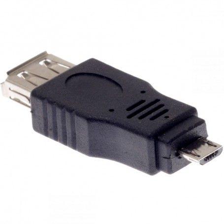 Adapter AF USB σε Micro USB 5P M