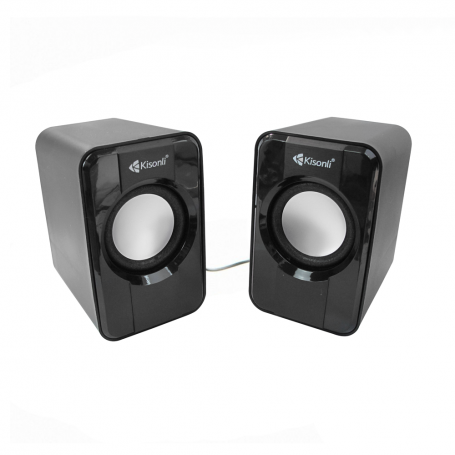 speaker for pc or laptop S-444, 2x3W USB