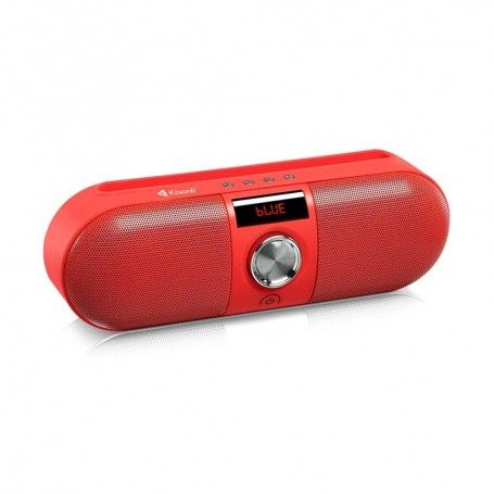 Φορητό Ηχείο KS-1985 RED Bluetooth USB SD FM red