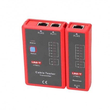 Συσκευή Έλεγχος καλωδιώσεων Ethernet RJ-45 UT681L